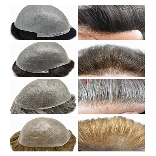 Ultra Thin Skin Limited time sale Mens Toupee Price reduction Invisible Poly Hair Replacement Men