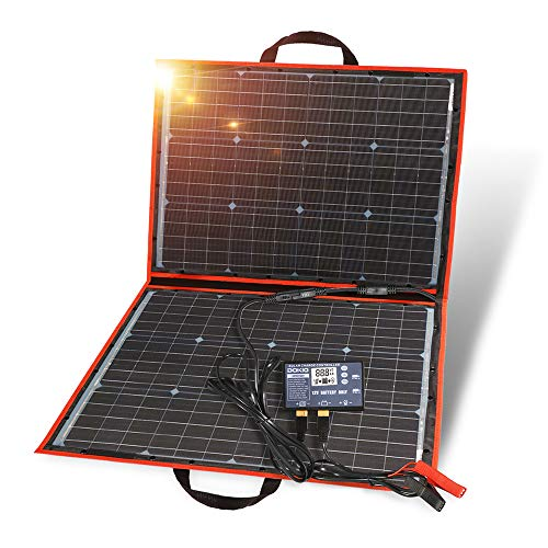 best portable solar panels for camping dokio