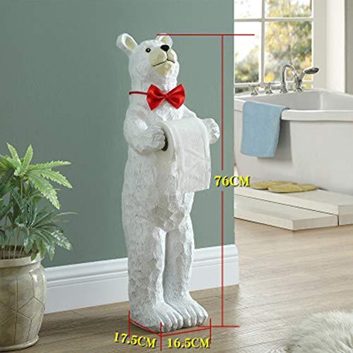 Knappe huisdierenkikker toiletpapier hars papieren handdoek houder papieren omslag doos keuken rolhouder,A