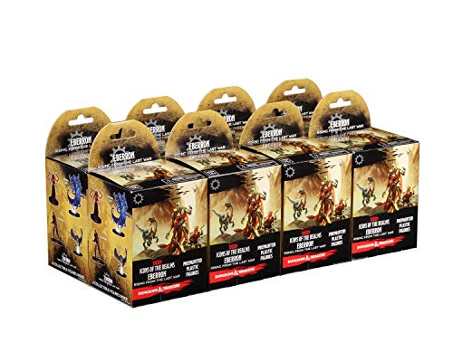 Wizkids Games Dungeons & Dragons Icons of The Realms Eberron: Rising from The Last War Booster Brick (8 Boxes)