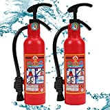 Water Gun for Kids, 2 Pack Fire Extinguisher Water Squirt Toys, 550CC Super Range Summer Gift for Swimming Pool Beach Outdoor Water Fighting Play, Halloween Cosplay Props for Boys Girls Children