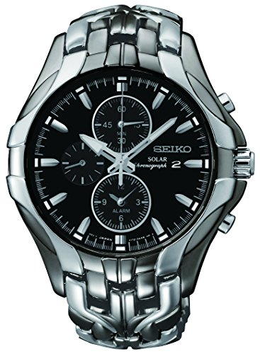 Seiko Men's SSC139 Excelsior Gunmetal and...