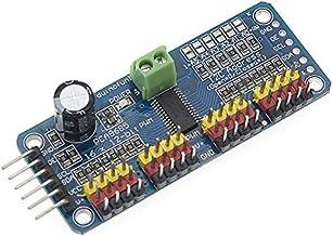DZS Elec 2PCS PCA9685 16 Channel 12-bit PWM//Servo Motor Driver-I2C Module for Arduino Robot Raspberry Pi Shield Module Servo Drive Board