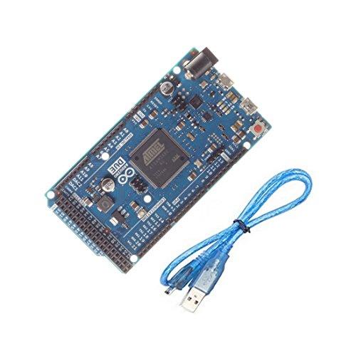 B2Q Arduino Due Atmel SAM3X8E ARM Cortex-M3 CPU mit USB-Kabel (0000)