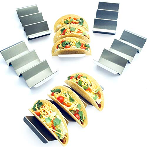 6 Pack Jumbo Taco Holder Stands