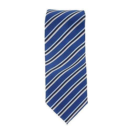 Cotton Park - Cravate 100% soie rose et fuchia - Homme
