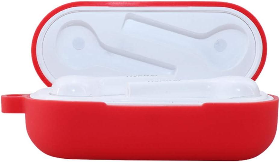 kdjsic rutschfeste Schutzh/ülle aus weichem Silikon Kopfh/örerh/ülle f/ür FreeBuds Lite Headset-Ladebox