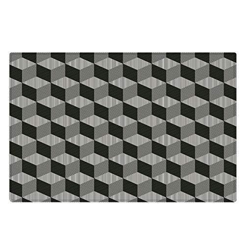 Rutschfester Dicker Und Haltbarer Teppich rutschfeste Haustiermatte Waschbare Bodenmatte Mit Unebenheiten Auf Der Rückseite