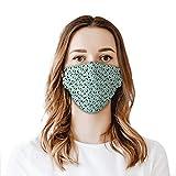 LESIF Waschbarer Stoff-Gesichtsschutz, trendiger