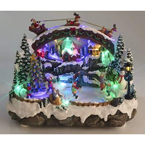 Wetekom Kerststad met licht, muziek en schaatsers