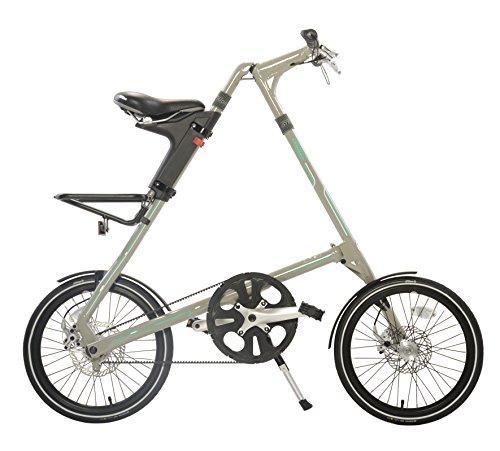 Strida SX Folding Bicycle, folds to 45x20x9', Khaki