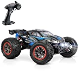 Hosim Large Size 1:12 Scale High Speed 45km+/H 4WD 2.4Ghz Remote Control Truck 9156, Radio Controlled Off-Road RC Car Electronic Monster Truck R/C RTR Hobby Grade Cross-Country Car (Blue)