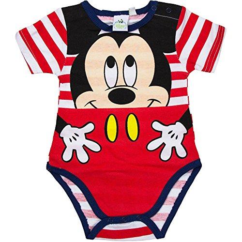 Disney Mickey Mouse Body para bebé 0–23meses 100% algodón