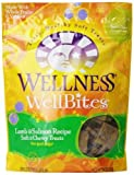 Wellness WellBites Dogs Treats, Lamb and Salmon, 8-Ounce Pouch by Wellness