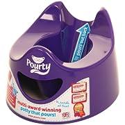 Pourty Easy-to-Pour Potty (Purple)