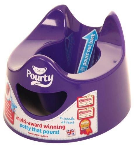 Pourty - Pot hygiénique - Violet