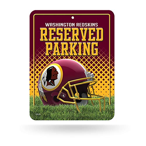 Rico Parkschild NFL Washington, Redskins, 20,3 x 27,9 cm, Metall