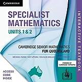 CSM QLD Specialist Mathematics Units 1 and 2 Digital (Card) (Essential Mathematics)