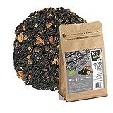 Tealand | Te Negro con Canela y Manzana | Hojas Sueltas, 100g | Te Ecologico y Natural a granel | Digestivo, Antioxidante y Estimulante