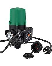 Monzana Interruptor de presión de bomba de agua Presostato automático Controlador con o sin cable Vol 60 a 160 L x min
