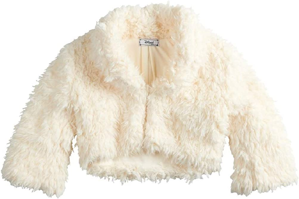 The Nutcracker and the Four Realms Girls D-Signed Faux-Fur Shawl Jacket