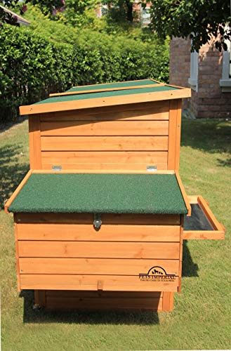 Pets Imperial® Devonshire Large Chicken Coop Hen House Ark Poultry Run Nest Rabbit Hutch Box Suitable For Up To 4 Birds – Integrated Run & Cleaning Tray & Innovative Locking Mechanism - 4