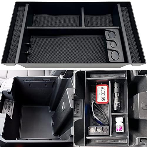 JOJOMARK Center Console Organizer Tray fits for 2019-2021 GMC Sierra/Chevy Silverado 1500...