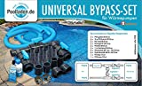 well2wellness® pool bypass set UNIVERSAL for heat pumps, pool heaters and solar heaters
