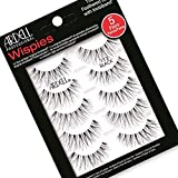 Ardell Wispies 113 Black, 5 Pairs x 1 Pack
