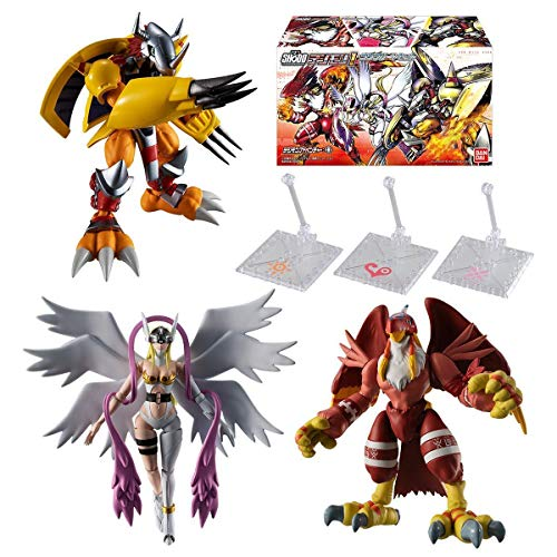 Bandai Shokugan Shodo Digimon 1 Complete Set