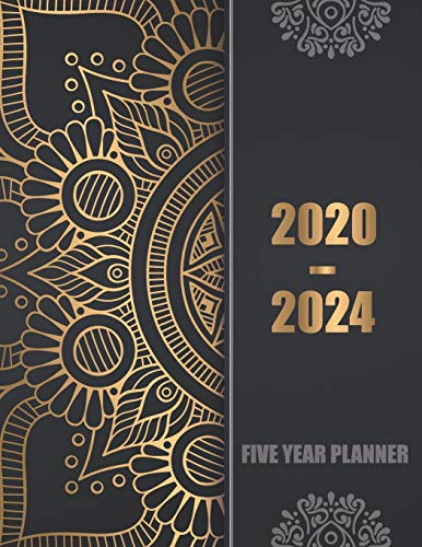 2020-2024 Five Year Planner: 60 ...