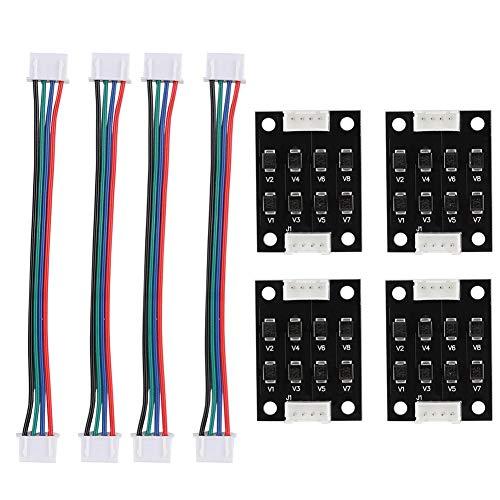 Wendry 4 stuks TL-Smoother diode kit plug-in module addon module voor het verwijderen van patronen motorfilter clipping filter 3D-printer motordriver controller