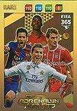 FIFA 365 2018 INVINCIBLE KARTE # 1 * SELTEN, MESSI, RONALDO usw. PANINI ADRENAYLN XL -