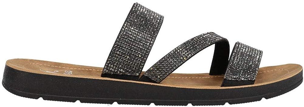 Fresno Mall Ranking TOP7 Corkys Womens Kaplan Slide Sandals Black - Casual