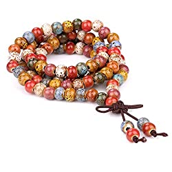 Mala beads for a meditation room