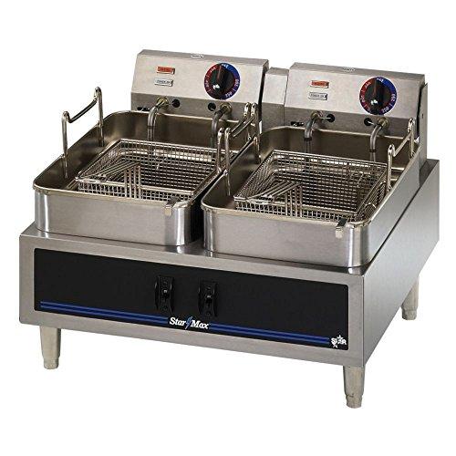 Star 530TF Electric Fryer, Twin Pot, 30 lb.