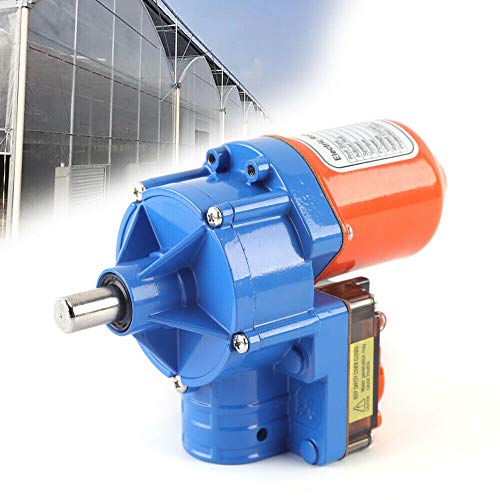 24V100W Automatic Venting Solution Roll-up Motor Electric Greenhouse Frame Shed Roll-up Motor