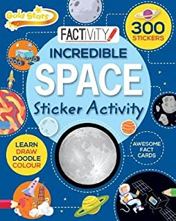 Gold Stars Factivity Incredible Space Sticker Activity