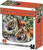 kidicraft Howard Robinson - Puzzles (1000 piezas, tigre de bengala)