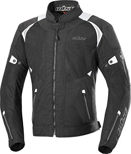 Büse Solara Motorrad Textiljacke XL Schwarz/Weiß