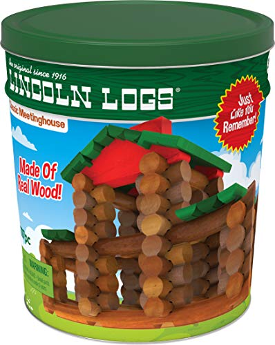LINCOLN LOGS – Classic Meetinghouse -...