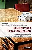 Im Dienst der Staatssicherheit: Eine soziologische Studie über die hauptamtlichen Mitarbeiter des DDR-Geheimdienstes