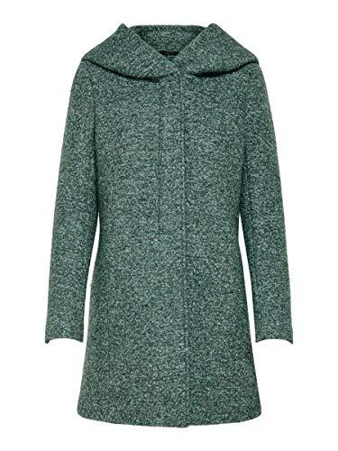 Only 15156578-balsamgreen Abrigo de Mezcla de Lana, Balsam Green/Detail:Melange, M para Mujer