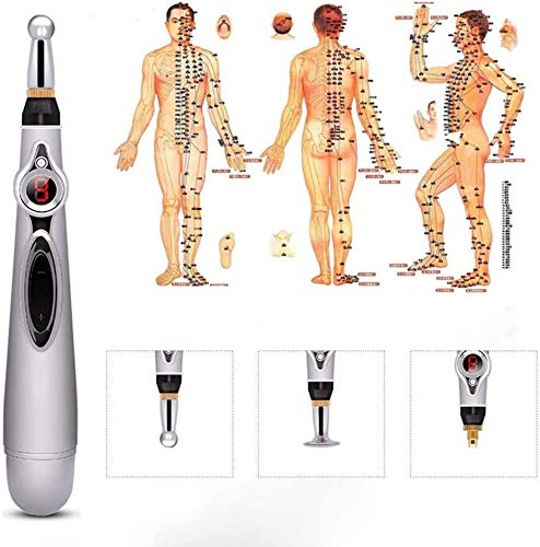 Linghuang Electronic Acupuncture Pen Electric Meridians Acupuncture Laser Machine Magnet Therapy Instrument Meridian Energy Pen Massager Pain Relief