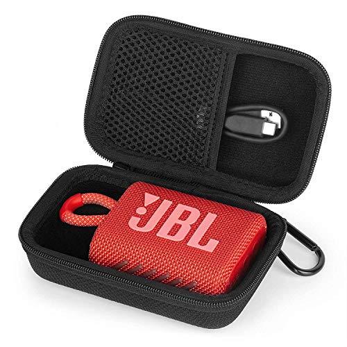 Flycoo - Funda rígida para altavoz JBL GO 3 Bluetooth, con cremallera,...