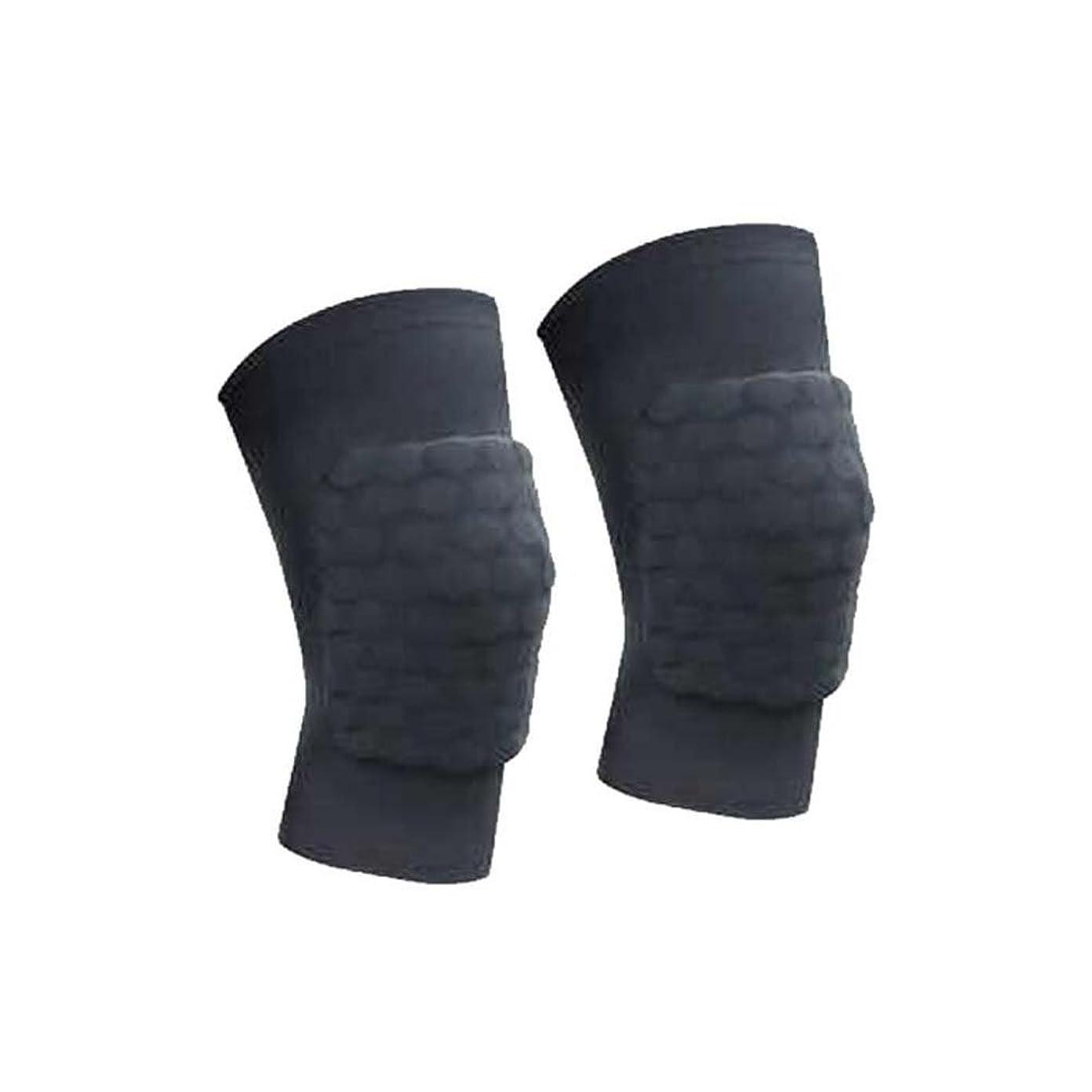 不均一長方形効率的に膝パッドは、痛みの保護パッドを解放します。ひざ掛けプロテクター(黒)