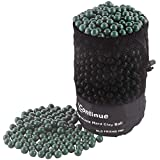 L Continue 1500 Pieces Diameter 3/8' Slingshot Ammo Biodegradable Hard Clay Ball.