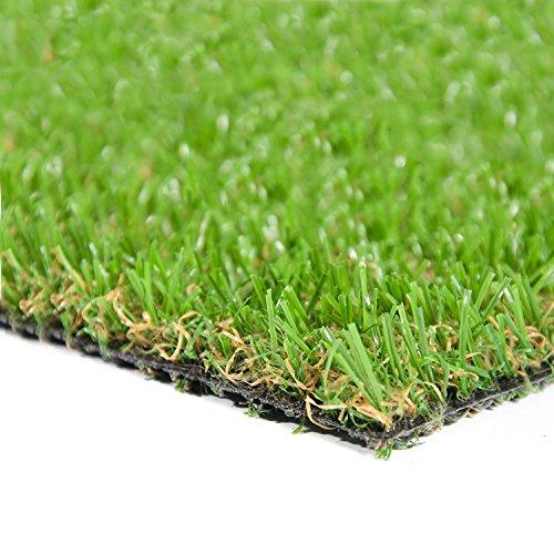 Gazon artificiel casa pura® Confort   herbe synthétique au mètre   pelouse, balcon, jardin, terrasse etc.   ultra résistant aux intempéries - 100x200cm