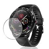 Vaxson 3 Stück Schutzfolie, kompatibel mit CanMixs 1.3' Z06 Smartwatch smart watch, Displayschutzfolie TPU Folie [ nicht Panzerglas ]