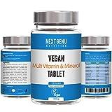 Next Gen U   120 Vegane Multivitamin- & Mineralien-Tabletten 500mg   Reich an Vitamin B12 B6 und C   4 Monate Lieferung   Über 100% Ihres täglichen Eisens, Zinks, Vitamins A C D E
